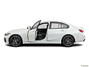 2020 BMW 3-series M340i, driver's side profile with drivers side door open.