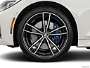 2020 BMW 3-series M340i, front drivers side wheel at profile.