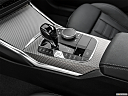 2020 BMW 3-series M340i, gear shifter/center console.