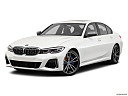 2020 BMW 3-series M340i, front angle medium view.