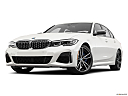 2020 BMW 3-series M340i, front angle view, low wide perspective.