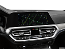 2020 BMW 3-series M340i, driver position view of navigation system.