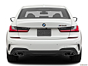 2020 BMW 3-series M340i, low/wide rear.