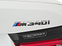 2020 BMW 3-series M340i, rear model badge/emblem