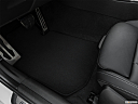 2020 BMW 3-series M340i, driver's floor mat and pedals. mid-seat level from outside looking in.