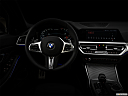 "2020 BMW 3-series M340i, centered wide dash shot - ""night"" shot."