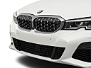 2020 BMW 3-series M340i, close up of grill.