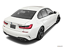 2020 BMW 3-series M340i, rear 3/4 angle view.