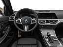 2020 BMW 3-series M340i, steering wheel/center console.