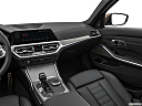 2020 BMW 3-series M340i, center console/passenger side.