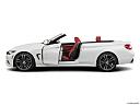 2020 BMW 4-series 440i Convertible, driver's side profile with drivers side door open.