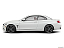2020 BMW 4-series 440i Convertible, drivers side profile, convertible top up (convertibles only).