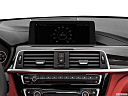 2020 BMW 4-series 440i Convertible, closeup of radio head unit