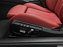 2020 BMW 4-series 440i Convertible, seat adjustment controllers.