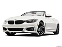 2020 BMW 4-series 440i Convertible, front angle view, low wide perspective.