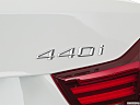 2020 BMW 4-series 440i Convertible, rear model badge/emblem