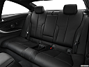 2020 BMW 4-series 440i, rear seats from drivers side.
