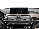 2020 BMW 4-series 440i, closeup of radio head unit