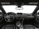 2020 BMW 4-series 440i, centered wide dash shot