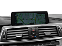 2020 BMW 4-series 440i, driver position view of navigation system.
