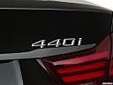 2020 BMW 4-series 440i, rear model badge/emblem