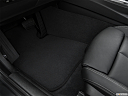 2020 BMW 4-series 440i, driver's floor mat and pedals. mid-seat level from outside looking in.