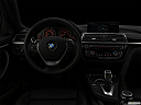 "2020 BMW 4-series 440i, centered wide dash shot - ""night"" shot."