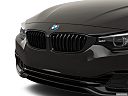 2020 BMW 4-series 440i, close up of grill.
