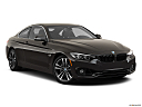 2020 BMW 4-series 440i, front passenger 3/4 w/ wheels turned.