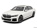2020 BMW 7-series 740i, front angle view.