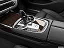 2020 BMW 7-series 740i, gear shifter/center console.