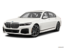 2020 BMW 7-series 740i, front angle medium view.