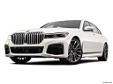 2020 BMW 7-series 740i, front angle view, low wide perspective.