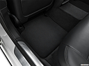 2020 BMW 7-series 740i, rear driver's side floor mat. mid-seat level from outside looking in.