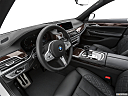 2020 BMW 7-series 740i, interior hero (driver's side).
