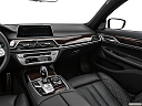 2020 BMW 7-series 740i, center console/passenger side.