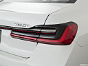 2020 BMW 7-series 750i xDrive, passenger side taillight.