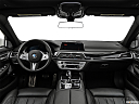 2020 BMW 7-series 750i xDrive, centered wide dash shot