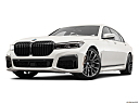 2020 BMW 7-series 750i xDrive, front angle view, low wide perspective.