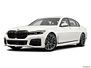 2020 BMW 7-series 750i xDrive, front angle medium view.