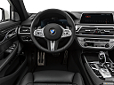 2020 BMW 7-series 750i xDrive, steering wheel/center console.