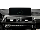 2020 BMW 4-series M4, closeup of radio head unit