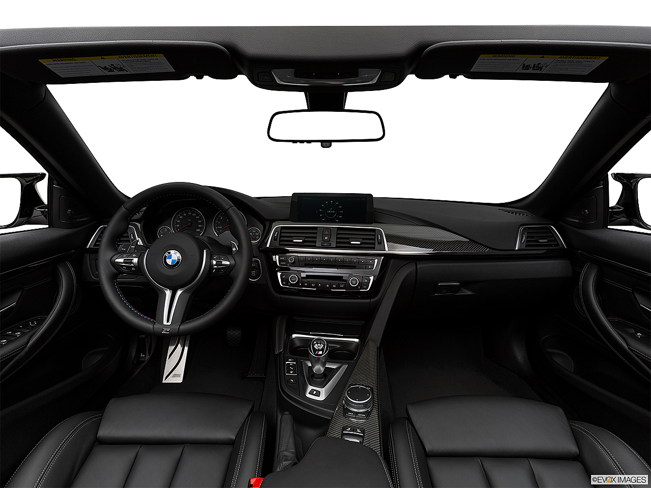 2020 BMW 4-series M4, centered wide dash shot