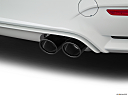 2020 BMW 4-series M4, chrome tip exhaust pipe.