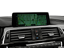 2020 BMW 4-series M4, driver position view of navigation system.