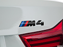 2020 BMW 4-series M4, rear model badge/emblem