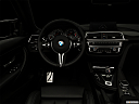 "2020 BMW 4-series M4, centered wide dash shot - ""night"" shot."