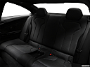2020 BMW 4-series M4, rear seats from drivers side.