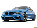 2020 BMW 4-series M4, front angle view, low wide perspective.