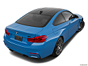 2020 BMW 4-series M4, rear 3/4 angle view.